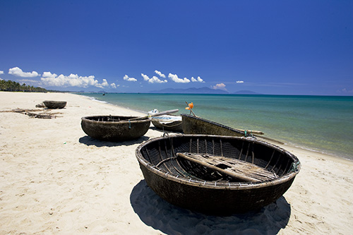 Traditional Vietnamese Fishing Boats
