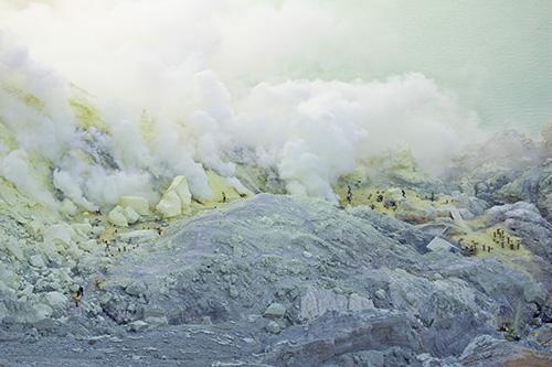 Ijen Sulphur Mine
